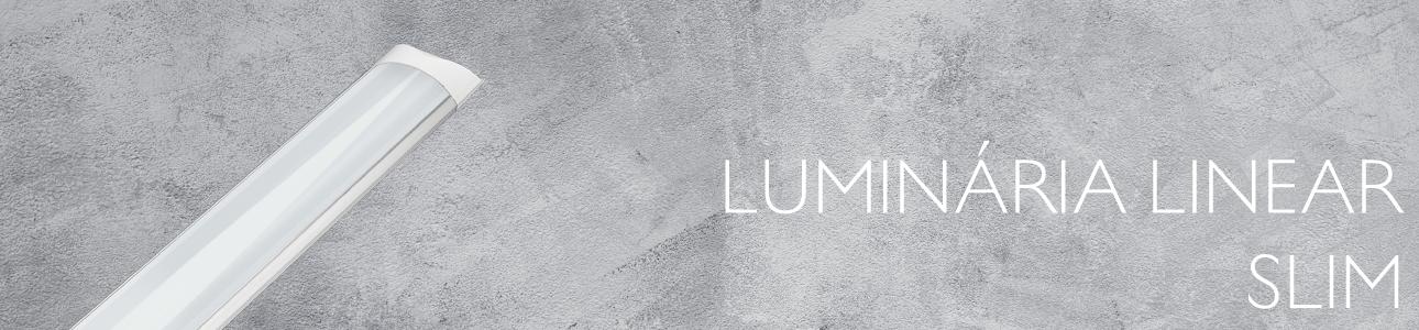 Luminária Sobrepor Linear Slim