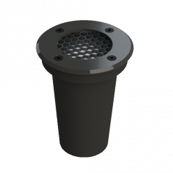 EMBUTIDO LED SOLO 6W 30º JET BLACK 2700K SAVE ENERGY
