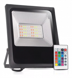 REFLETOR MICRO LED SMD 100W RGB