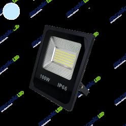 REFLETOR LED 100W SMD BRANCO FRIO MGA