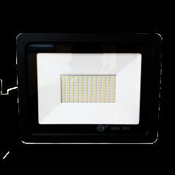 REFLETOR LED 100W F PRETO BRANCO FRIO