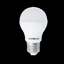 LAMPADA LED BULBO 9W A60 BRANCO FRIO OUROLUX
