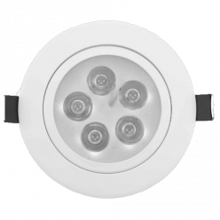 SPOT LED 5W SMD RED BRANCO QUENTE
