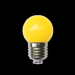 LAMPADA LED G45 1W AMARELO