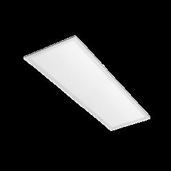 PAINEL LED 48W EMBUTIR RETANGULAR 30X120 BRANCO QUENTE