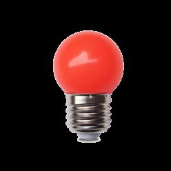 LAMPADA LED G45 1W  VERMELHO