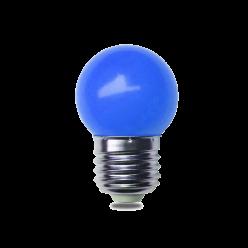 LAMPADA LED G45 1W AZUL