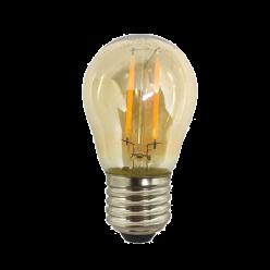 LAMPADA FILAMENTO LED 4W G45 AMBAR
