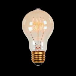 LAMPADA FILAM CARBONO 40W A19