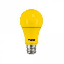 LAMPADA LED COLORS BULBO 5W A60 - AMARELO TACHIBRA