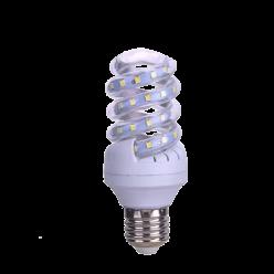 LAMPADA LED ESPIRAL 9W BRANCO QUENTE