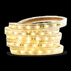FITA LED 220V 14,4W/M (5050) 1METRO  BRANCO QUENTE