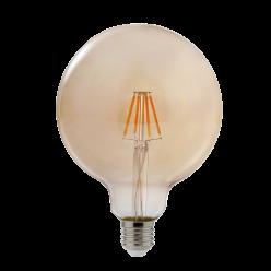 LAMPADA LED BULBO FILAMENTO 4W G200 BRANCO QUENTE