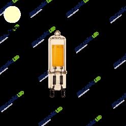 LAMPADA LED G9 2,5W 2200K MB LED