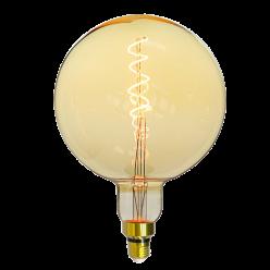 LAMPADA LED GIANT GLOBO E27 4W AMBAR TASCHIBRA