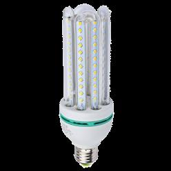 LAMPADA LED 4U 24W MILHO BRANCO QUENTE