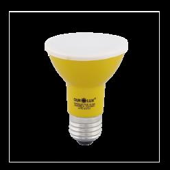 LAMPADA LED PAR20 6W E27 - AMARELO