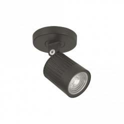 SPOT PERGO C/ CANOPLA MINI LED 6W 500L IP66 2700K INTERLIGTH