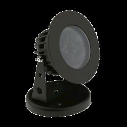 PROJETOR LED 8W FLAT OUT 20º C/ CANOPLA IP67 2700K INTERLIGTH