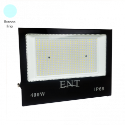 REFLETOR LED  SMD 400W BRANCO FRIO ENT