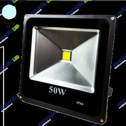 REFLETOR LED COB 50W BRANCO FRIO