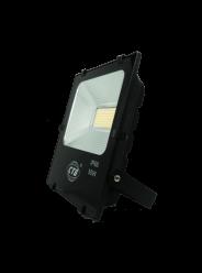 REFLETOR LED 50W SMD 100% BRANCO QUENTE