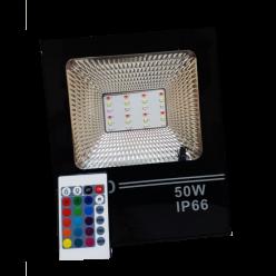REFLETOR LED 50W SMD RGB