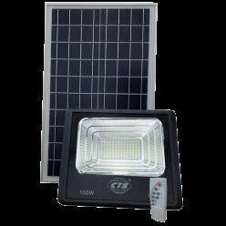 REFLETOR LED 100W SMD SOLAR BRANCO FRIO