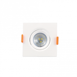 SPOT LED 3W 4000K 127/220V QUADRADO LUMINATTI