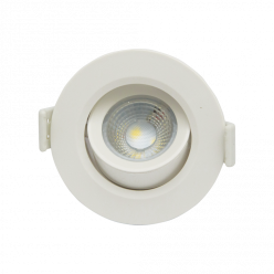 SPOT LED 7W COB RED BR QUENTE