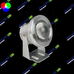 LUMINARIA LED 12V 10W IP67 RGB COM CONTROLE