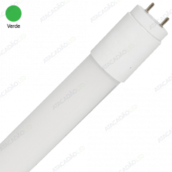 LAMPADA LED TUBO T8 120CM 18W VERDE