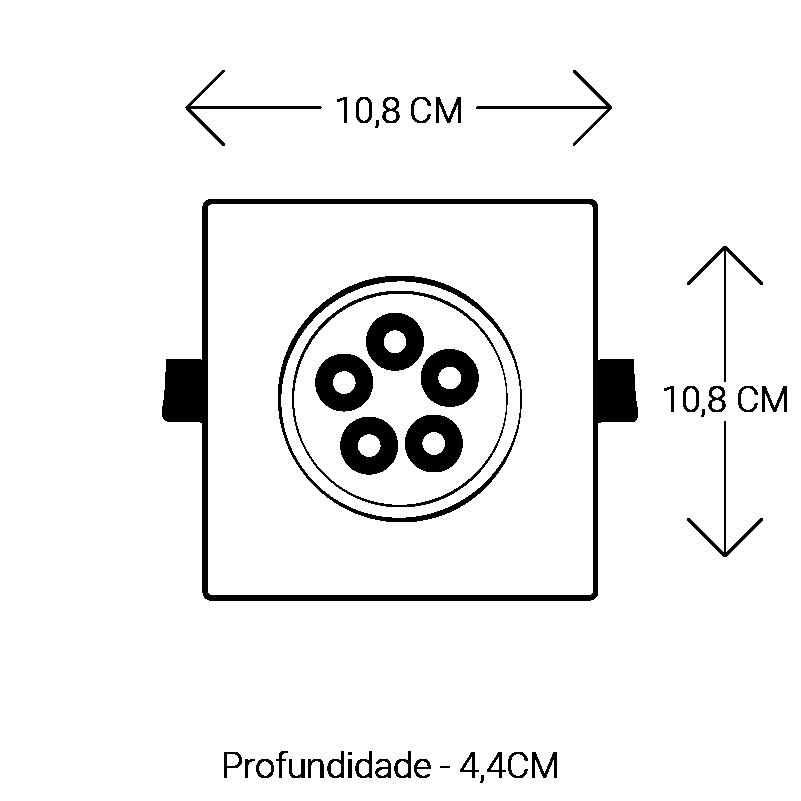 SPOT LED ATACADAO LED FORTALEZA